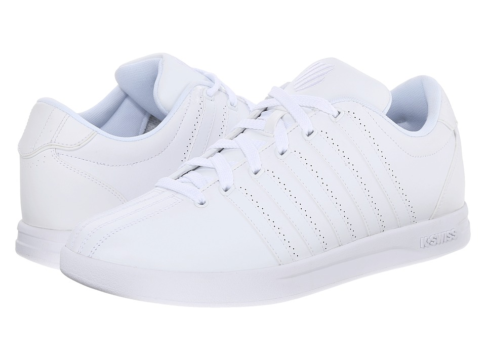 K-Swiss - Court Pro CMF (White) Men's Shoes