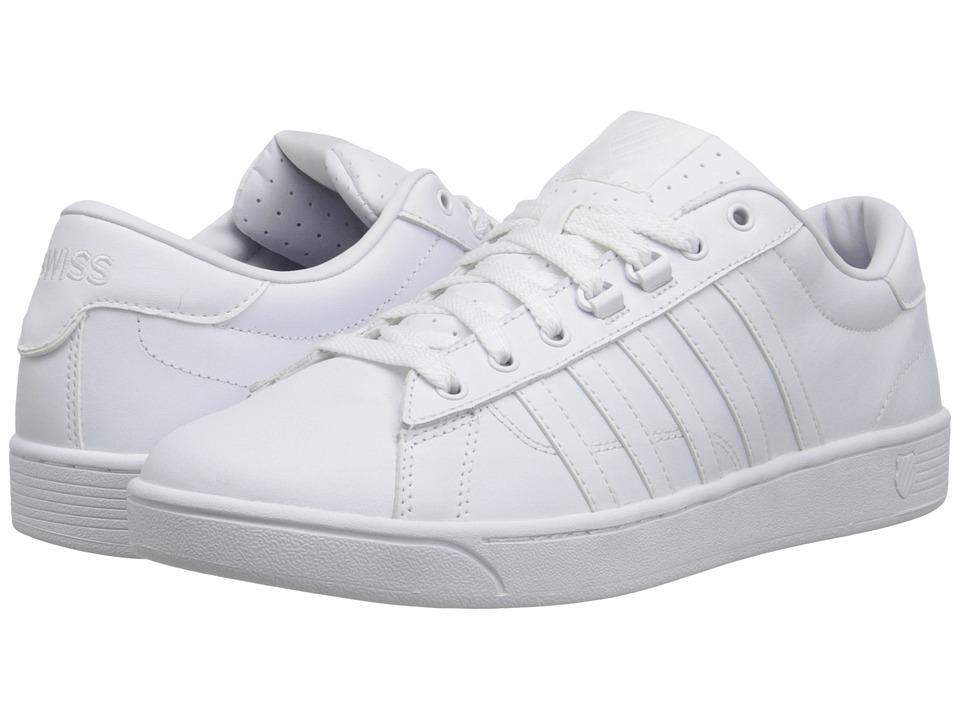 K-Swiss - Hoke CMFtm (White/White) Men's Shoes