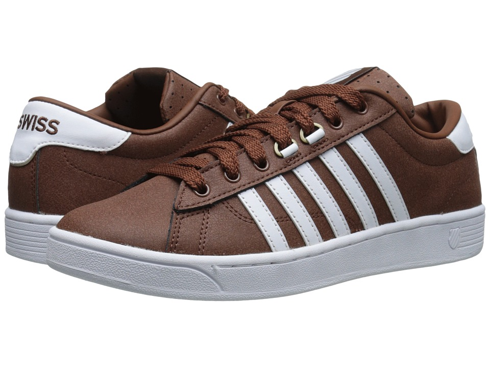 K-Swiss - Hoke C CMF (Friar Brown/White) Men's Shoes