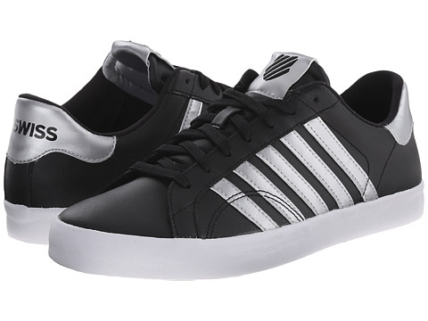 K-Swiss - Belmont So (Black/Crystal) Women's Shoes