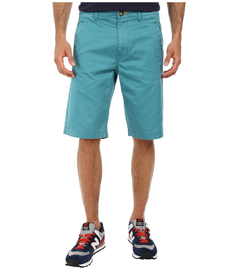 L-R-G - Comoros Chino Shorts (Light Teal) Men's Shorts