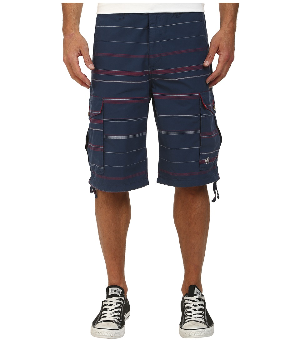 L-R-G - Somali Cargo Shorts (Nautical Blue) Men