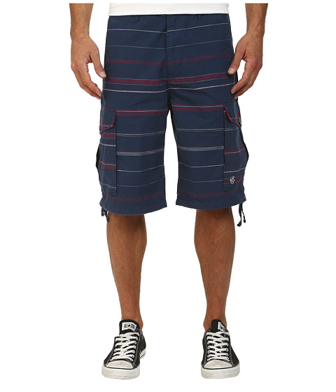 L-R-G - Somali Cargo Shorts (Nautical Blue) Men's Shorts