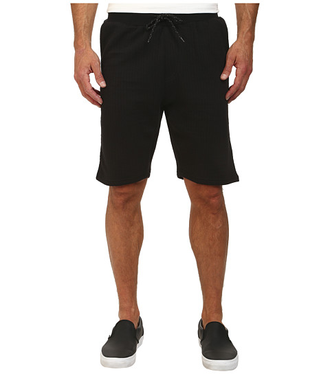 L-R-G - Trainin Day Sweatshorts (Black) Men's Shorts