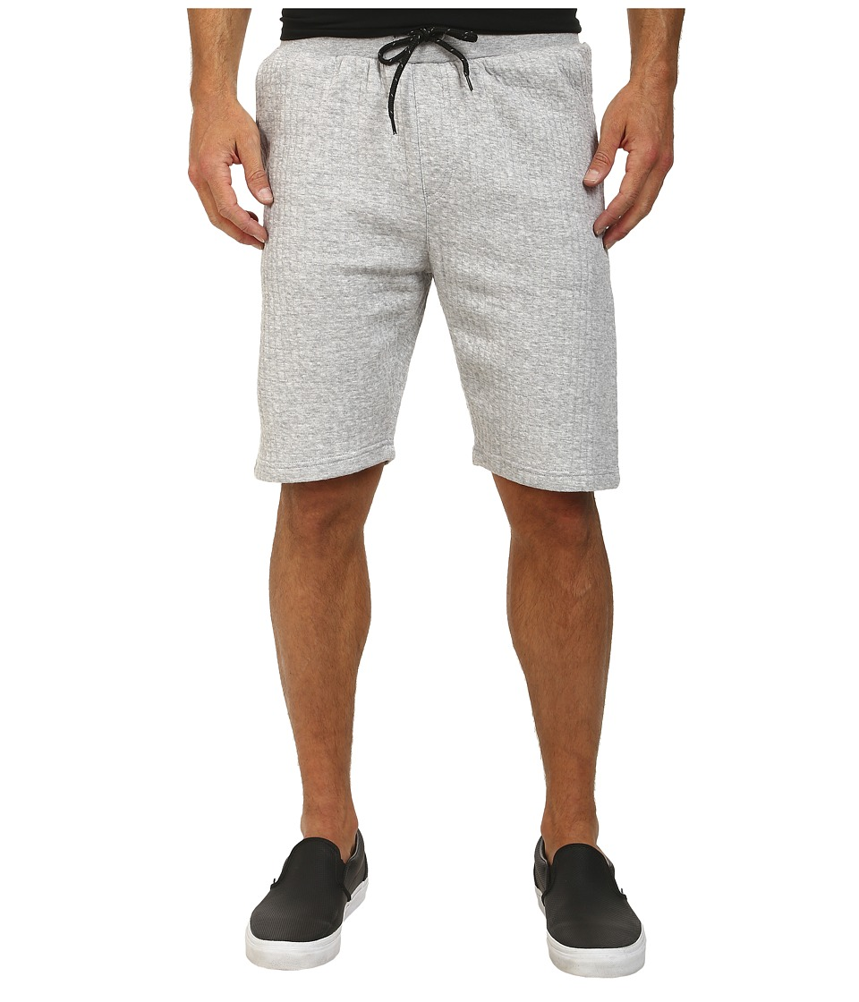 L-R-G - Trainin Day Sweatshorts (Ash Heather) Men's Shorts