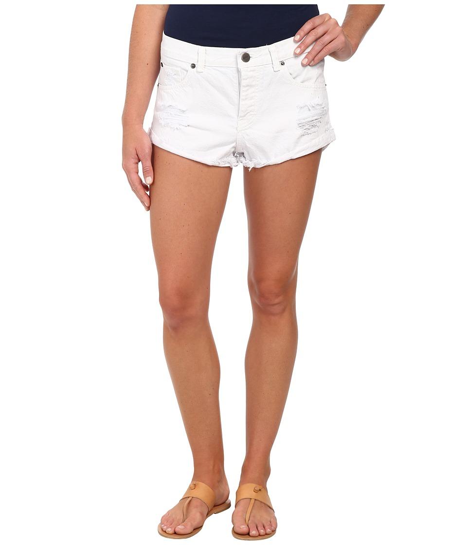 Amuse Society - Crossroad Short (White) Women's Shorts