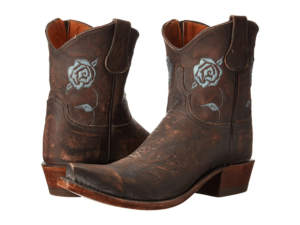 Lucchese - N8883.S53 (Stonewash Brown) Cowboy Boots