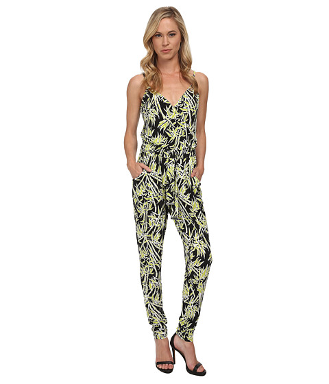 MICHAEL Michael Kors - Petite Bamboo Tank Jumpsuit (Pear) Women's Jumpsuit & Rompers One Piece