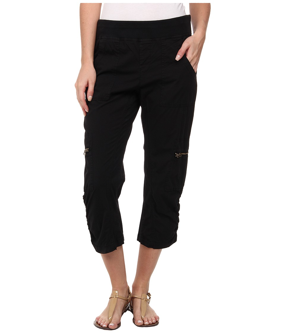 XCVI - Nadia Crop (Black) Women's Clothing
