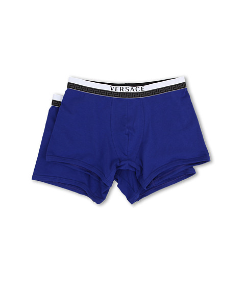 Versace - Multipack Titan Long Boxer Brief (Royal Blue) Men's Underwear