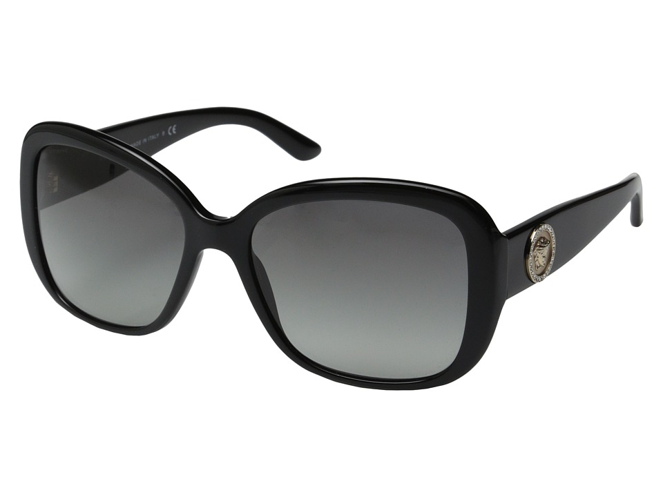 Versace - VE4278B (Black/Grey Gradient) Fashion Sunglasses