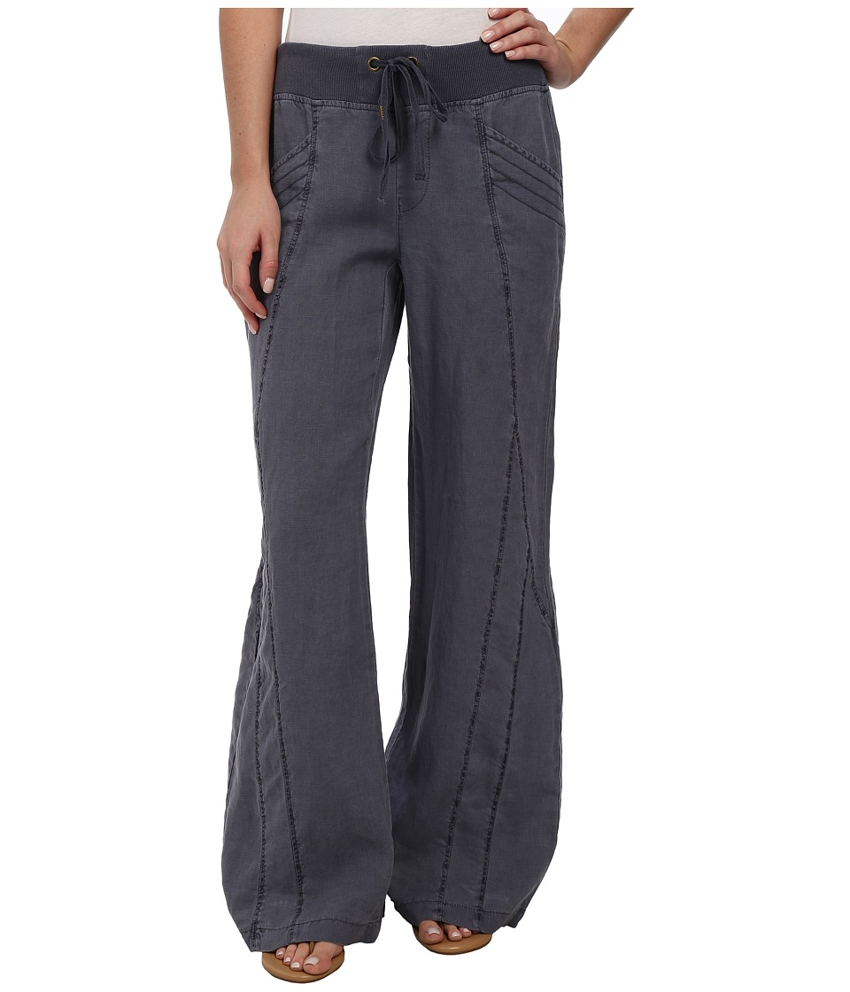 XCVI - Freesia Wide Leg Pants - Linen (Aegean Blue) Women's Casual Pants