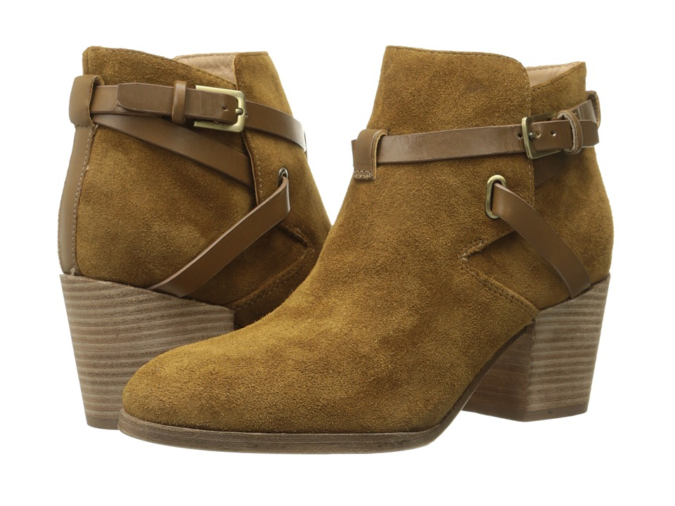 Belle by Sigerson Morrison - Genia (Sattel Suede) Women's Pull-on Boots