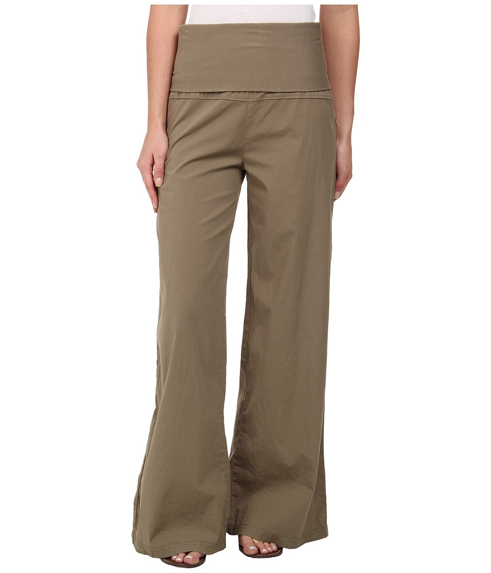 XCVI - Fold-Over Palazzo (Silt) Women's Casual Pants