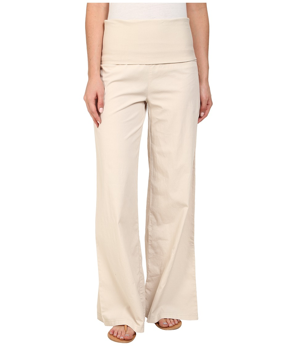 XCVI - Fold-Over Palazzo (Sea Salt) Women's Casual Pants