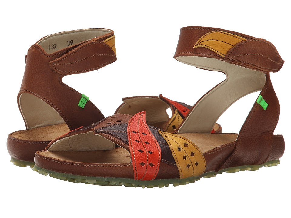 El Naturalista - Ikebana N132 (Wood-BSM Pull Grain) Women's Sandals