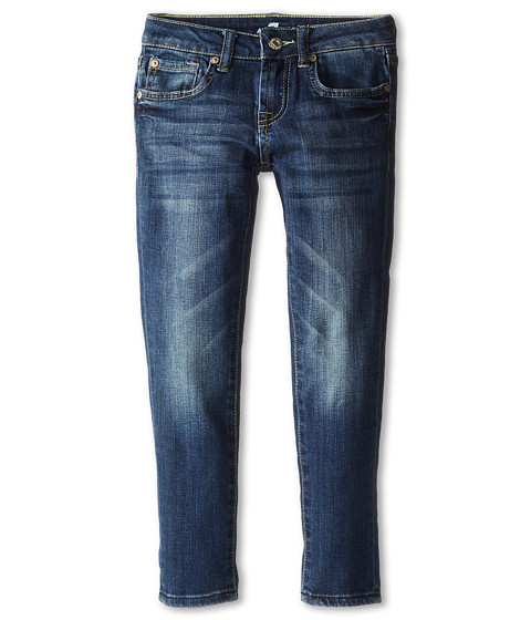 7 For All Mankind Kids - Slim Crop Jeans in Leshalles Sky (Big Kids) (Leshalles Sky) Girl's Jeans