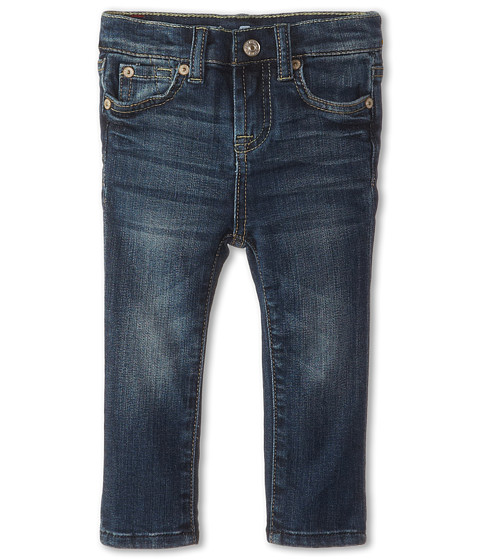 7 For All Mankind Kids - Slim Crop Jeans in Leshalles Sky (Little Kids) (Leshalles Sky) Girl
