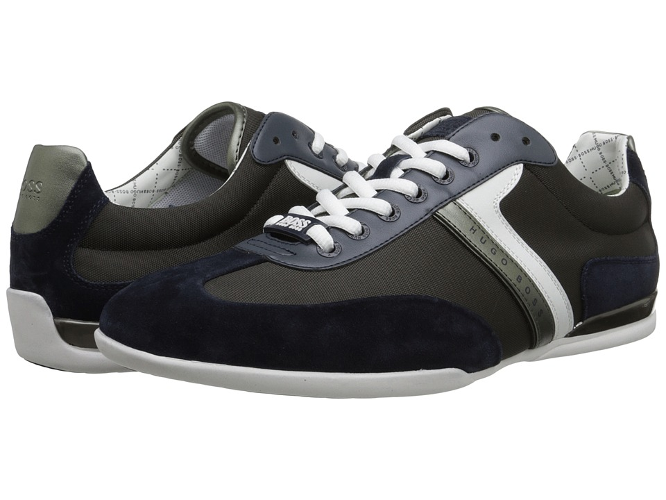 BOSS Hugo Boss - Spacito by BOSS Green (Dark Grey) Men's Lace up casual Shoes