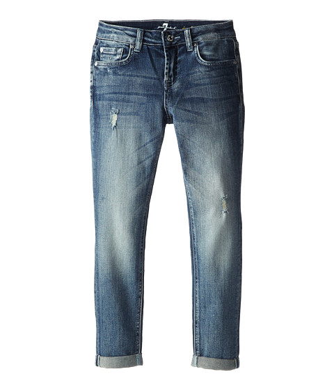 7 For All Mankind Kids - Josefina Boyfriend Jeans in Vintage Heritage (Big Kids) (Vintage Heritage) Girl