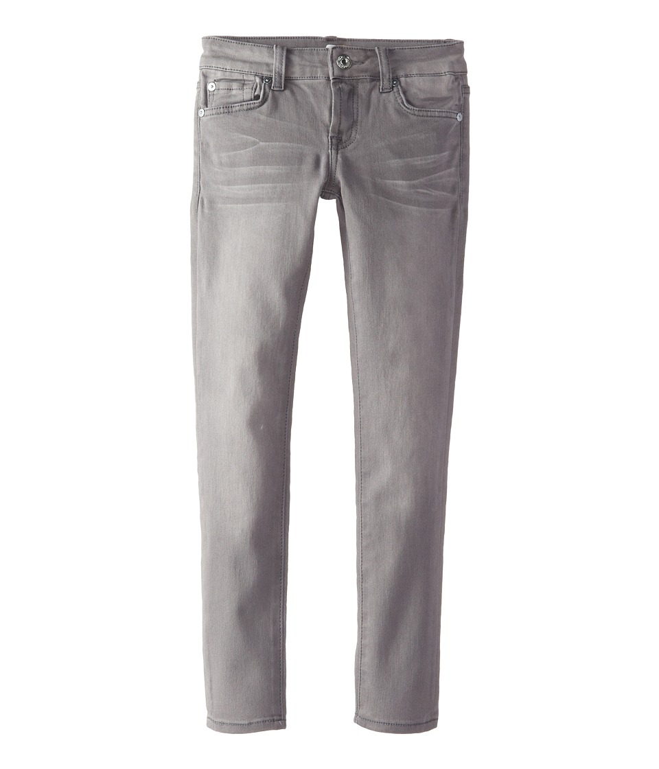 7 For All Mankind Kids - Skinny Jeans in Sterling Grey (Big Kids) (Sterling Grey) Girl