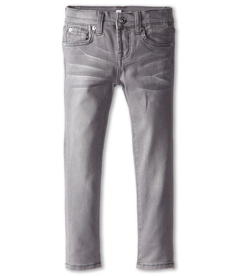 7 For All Mankind Kids - Skinny Jeans in Sterling Grey (Little Kids) (Sterling Grey) Girl