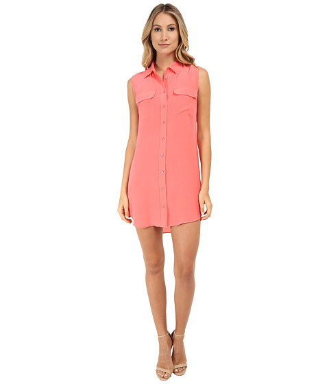 EQUIPMENT - Sleeveless Slim Signature Dress (Sunkissed) Women