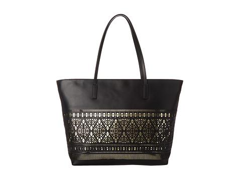 Vince Camuto - Lila Tote (Black/Pale Gold) Tote Handbags