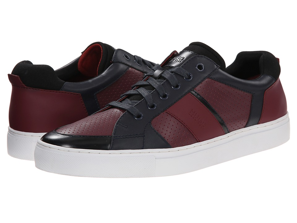BOSS Hugo Boss - Fuster by HUGO (Dark Red) Men's Lace up casual Shoes