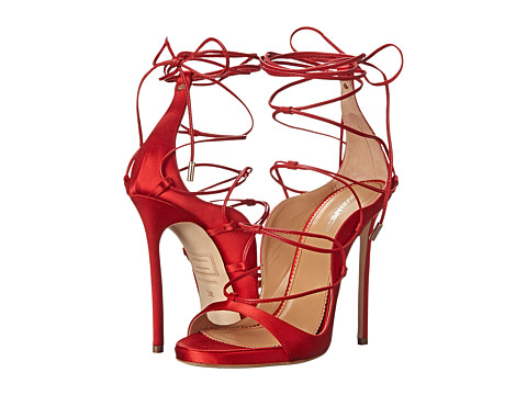 DSQUARED2 - W15C505 (Raso Rosso) High Heels