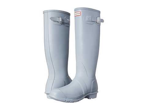 Hunter - Original Tall (Porcelain Blue) Women's Rain Boots