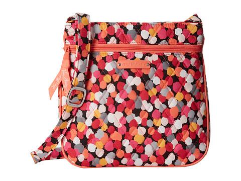 Vera Bradley - Petite Double Zip Hipster (Pixie Confetti) Handbags