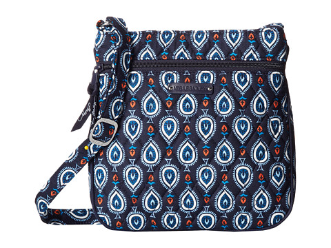 Vera Bradley - Petite Double Zip Hipster (Marrakesh Motifs) Handbags