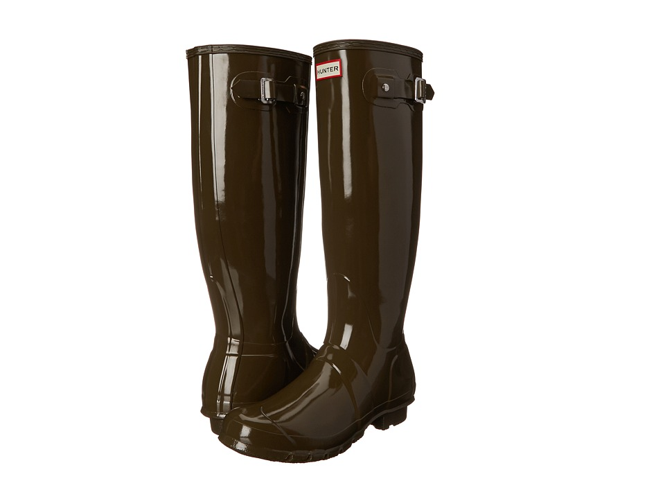 Hunter - Original Gloss (Swamp Green) Women's Rain Boots