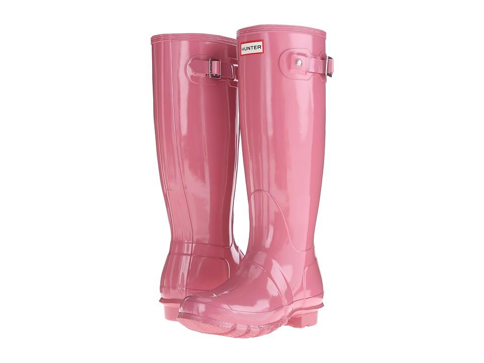Hunter - Original Gloss (Rhodonite Pink) Women's Rain Boots