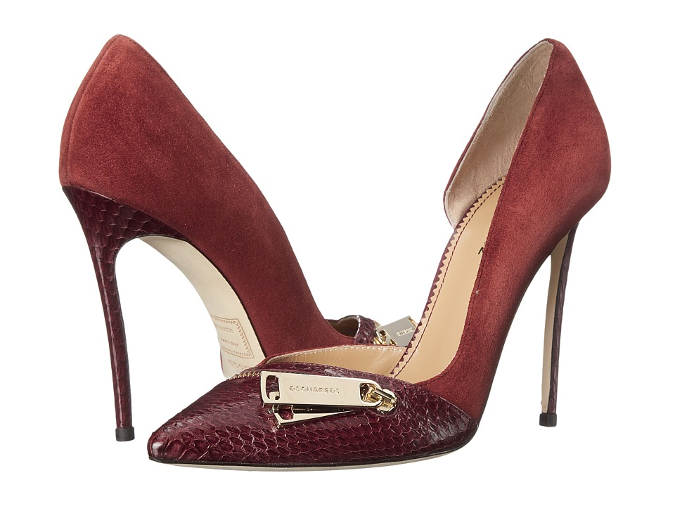 DSQUARED2 - Pump (Camoscio Ayers Bordeaux) High Heels