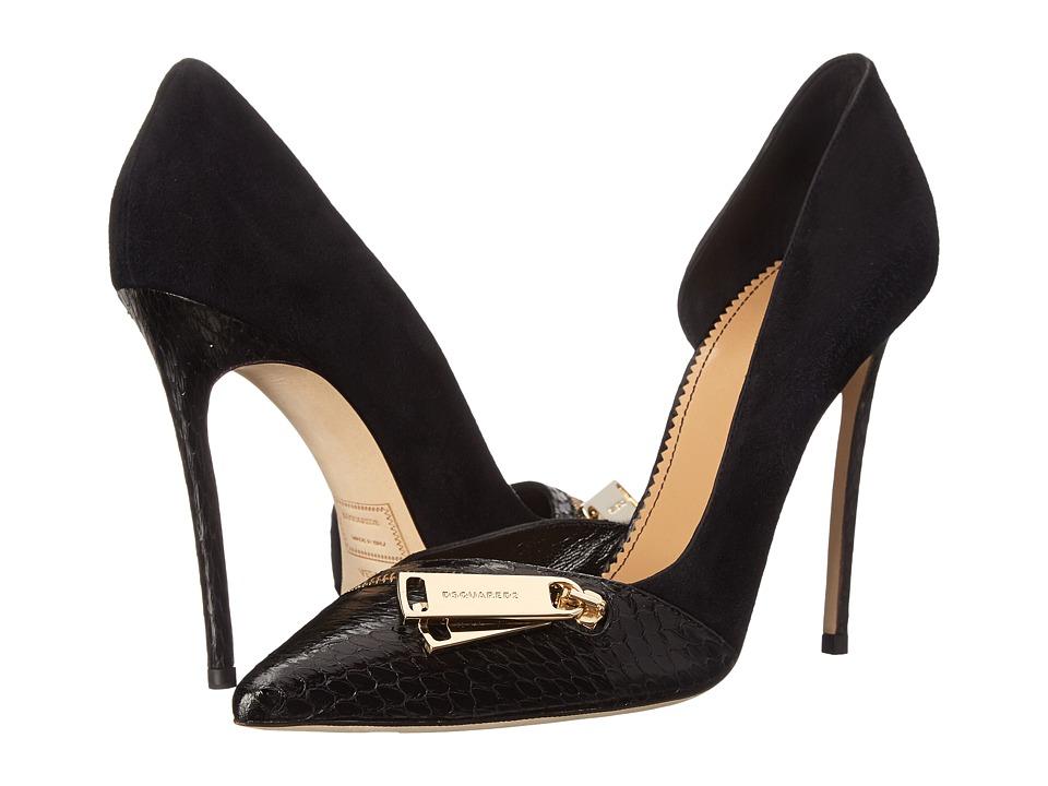 DSQUARED2 - Pump (Camoscio Ayers Nero) High Heels