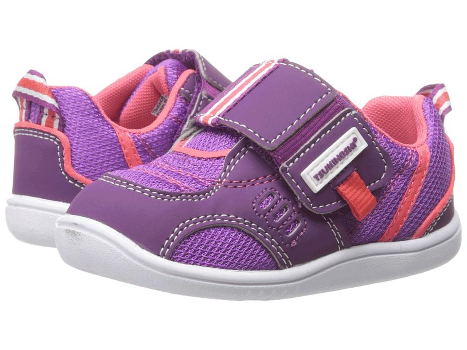 Tsukihoshi Kids - Cali (Toddler) (Purple/Coral) Girls Shoes