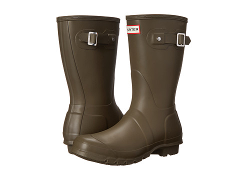 Hunter - Original Short (Swamp Green) Women's Rain Boots