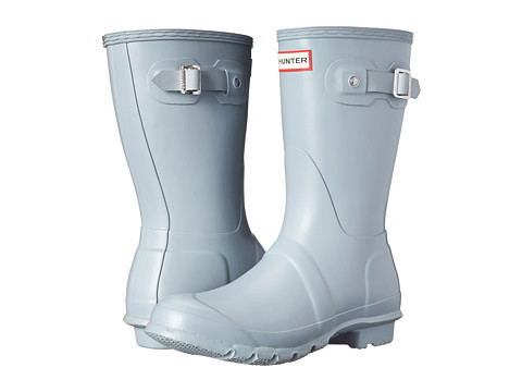 Hunter - Original Short (Porcelain Blue) Women's Rain Boots