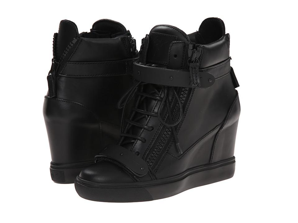 Giuseppe Zanotti - RW5105 (Birel Nero Come Bolla) Women's Shoes