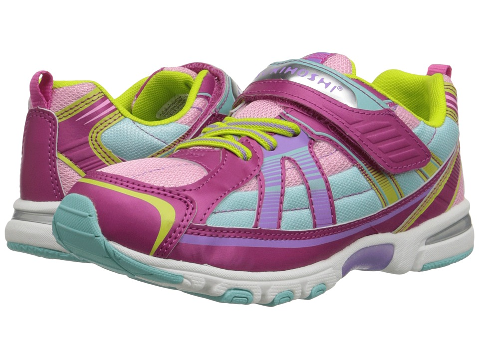 Tsukihoshi Kids - Storm (Toddler/Little Kid) (Fuchsia/Pink) Girls Shoes
