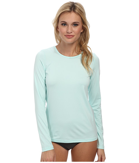 Rip Curl - Wash Loose Fit Long Sleeve (Aqua Heather) Women's Swimwear