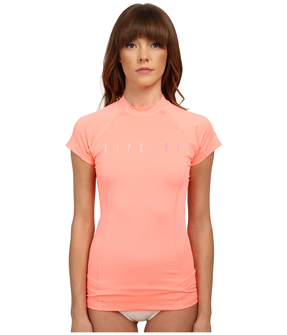 Rip Curl - Dawn Patrol Cap Sleeve (Creamsicle) Women's Swimwear