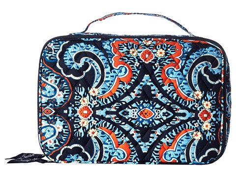 Vera Bradley Luggage - Large Blush Brush Makeup Case (Marrakesh) Cosmetic Case