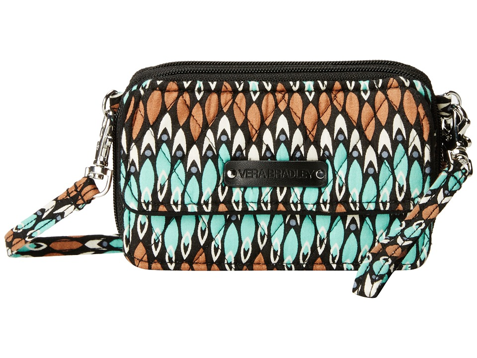 Vera Bradley - All In One Crossbody (Sierra Stream) Cross Body Handbags