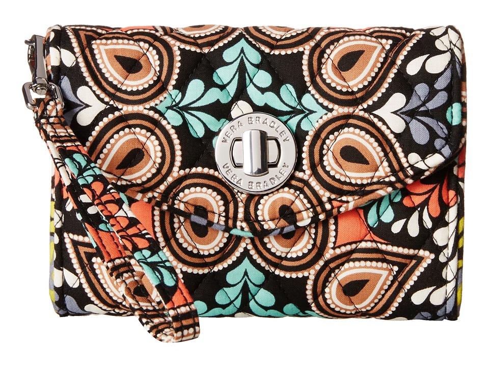 Vera Bradley - Your Turn Smartphone Wristlet (Sierra) Wristlet Handbags