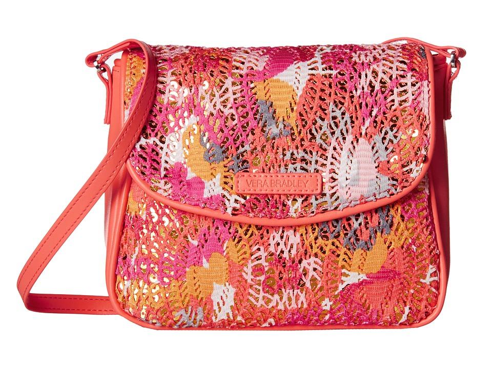 Vera Bradley - Summer Sparkle Crossbody (Pixie Blooms) Cross Body Handbags