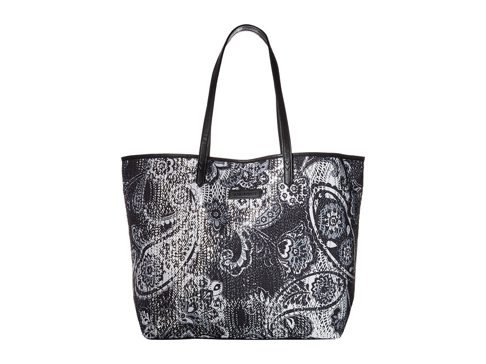 Vera Bradley - Summer Sparkle Tote (Midnight Paisley) Tote Handbags