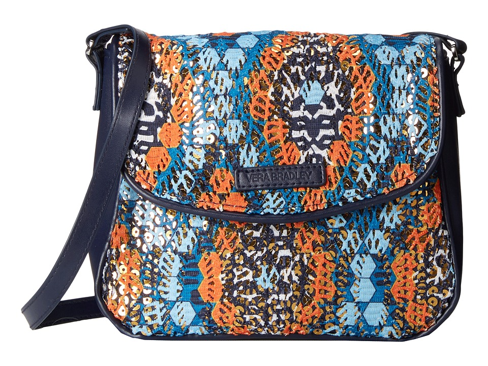 Vera Bradley - Summer Sparkle Crossbody (Marrakesh Beads) Cross Body Handbags